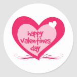 Día de San Valentín feliz Etiqueta