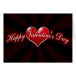 día de San Valentín feliz Felicitación
