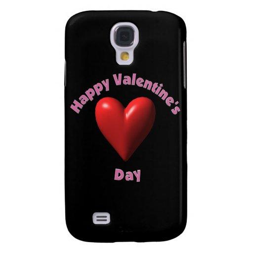 Día de San Valentín feliz Funda Para Galaxy S4