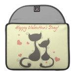 Día de San Valentín feliz Fundas Macbook Pro