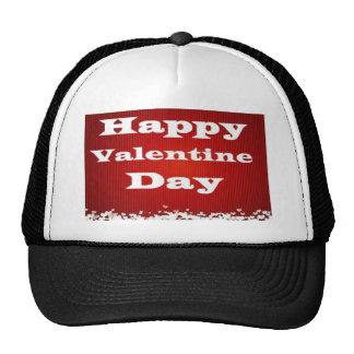día de San Valentín feliz.. . Gorros Bordados