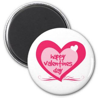 Día de San Valentín feliz Imán De Nevera