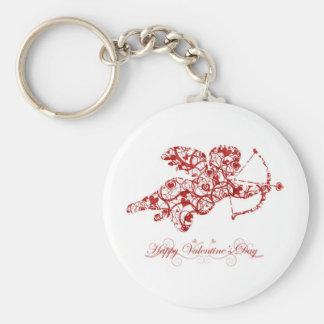 Día de San Valentín feliz Llaveros Personalizados