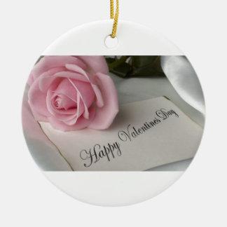 Día de San Valentín feliz Adorno De Reyes