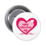 Día de San Valentín feliz Pin