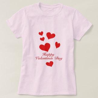 Día de San Valentín feliz Remeras