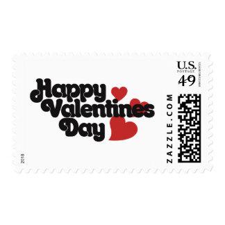 Día de San Valentín feliz retro Envio