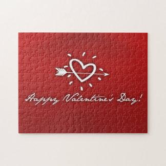 Día de San Valentín feliz Rompecabeza