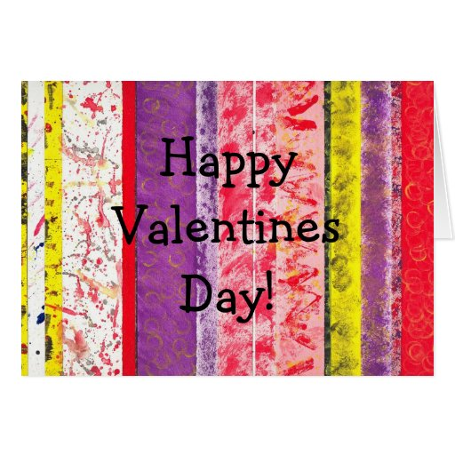 ¡Día de San Valentín feliz! Tarjeta