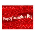 Día de San Valentín feliz Tarjetas Postales