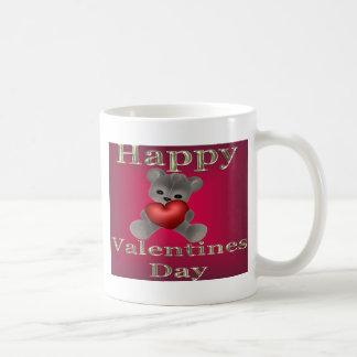 día de San Valentín feliz Taza