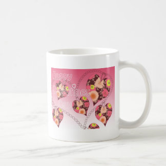 Día de San Valentín feliz Tazas De Café