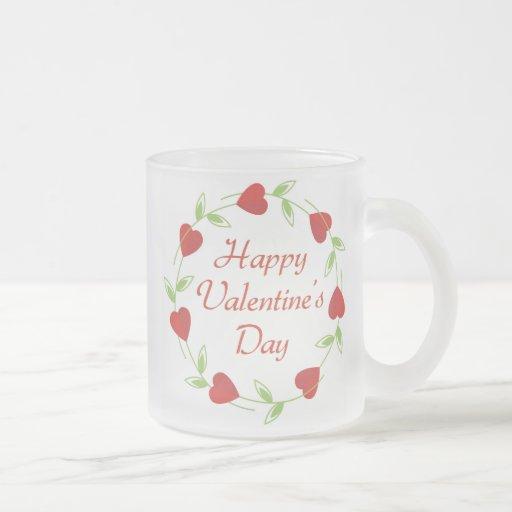 Día de San Valentín feliz Tazas