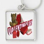 Día de San Valentín Llavero