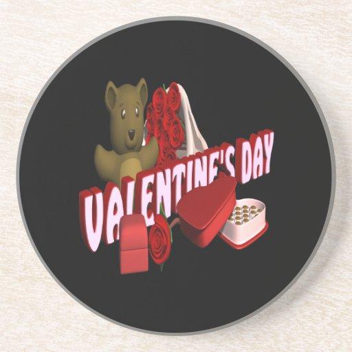 Día de San Valentín Posavaso Para Bebida