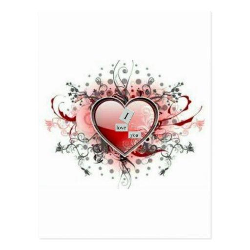 Día de San Valentín Postal