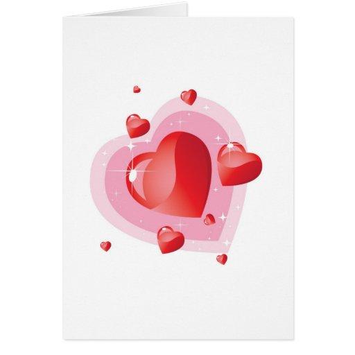 Día de San Valentín romántico Tarjeta De Felicitación