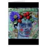 Día de Santa Muerte de la tarjeta de felicitación