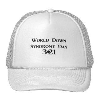 Día de Síndrome de Down del mundo Gorras