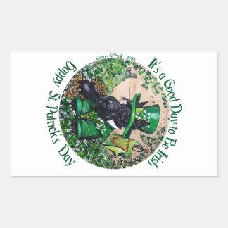 Día de Terrier St Patrick del escocés Rectangular Altavoz
