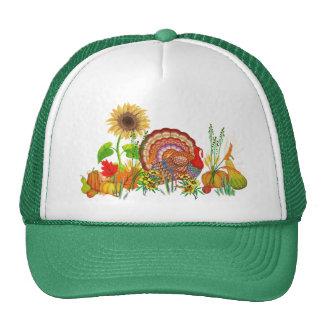 Día de Turquía Gorras