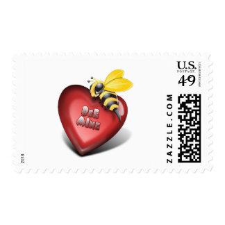 Día de Valenines, mina de la abeja también Franqueo