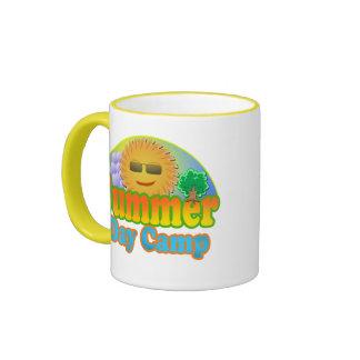 Día de verano taza de dos colores
