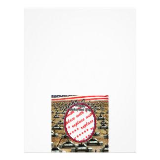 """Día de veteranos - de los """"tanques marco de la fot tarjetas publicitarias"""