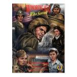Día de veteranos del vintage, 1992 - tarjetas postales