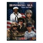 Día de veteranos del vintage, 1996 - postal