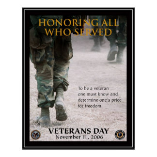Día de veteranos del vintage, 2006 - póster