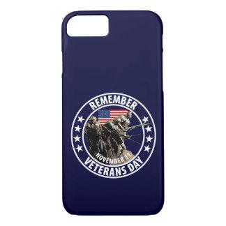 Día de veteranos funda iPhone 7