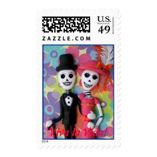 Día de Vida del La de Viva del sello muerto del bo