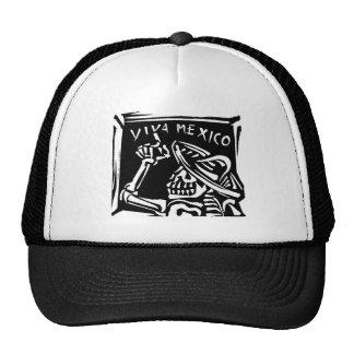 """Día de Viva México México """"del muerto """" Gorros"""