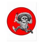 Día del adorno muerto 2 tarjeta postal