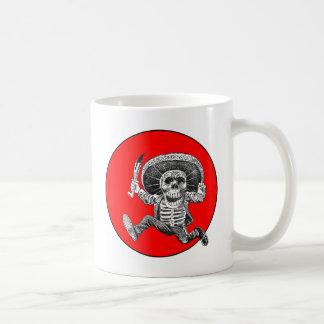 Día del adorno muerto 2 taza clásica