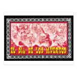 Día del adorno muerto 6 tarjeta postal