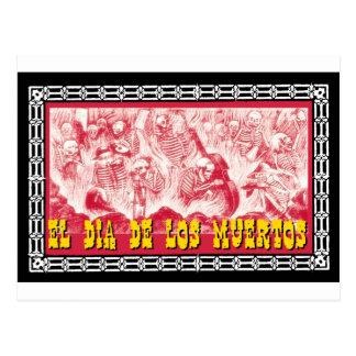 Día del adorno muerto 6 postales