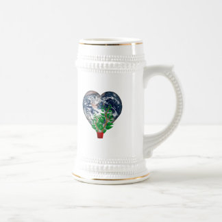 Día del ambiente mundial taza de café
