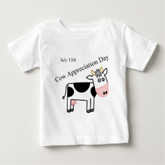 Día del aprecio de la vaca apenas otro día de playera