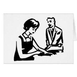 Día del aprecio del administrador de sistema tarjeta pequeña