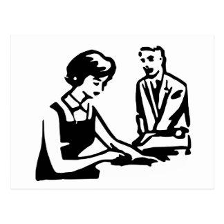 Día del aprecio del administrador de sistema tarjeta postal