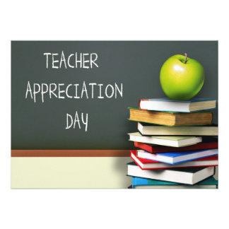 Día del aprecio del profesor Tarjetas adaptables Anuncios Personalizados