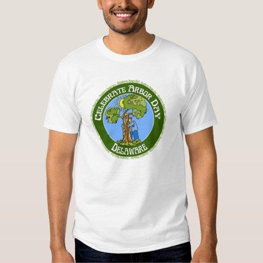 Día del árbol Delaware Poleras