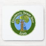 Día del árbol Idaho Alfombrillas De Raton