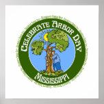 Día del árbol Mississippi Impresiones