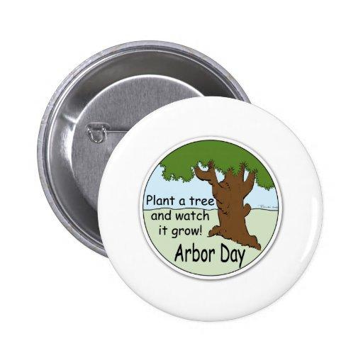 Día del árbol pin