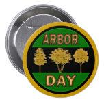 Día del árbol pins