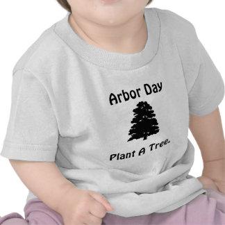 Día del árbol Plante el árbol de A Camiseta