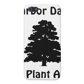 Día del árbol; Plante el árbol de A iPhone 5 Carcasa